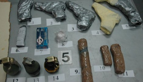 Serbia catches Swedish woman with grenades