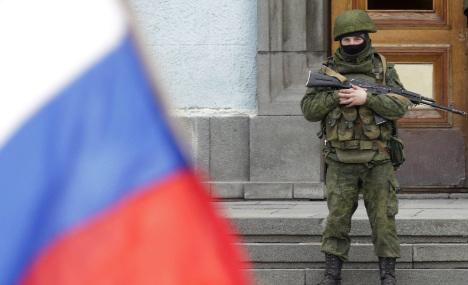 Merkel 'worried' over developments in Crimea