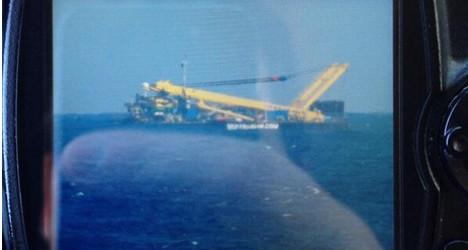 Panic over: 'Crashed plane' was tug boat