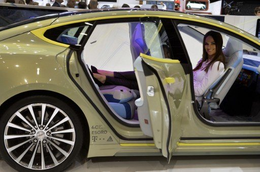 Swiss firm imagines driverless car future