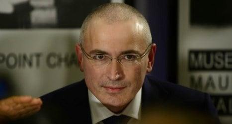 Khodorkovsky applies to become Swiss resident