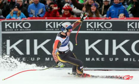 Canada's Erik Guay wins Norway downhill