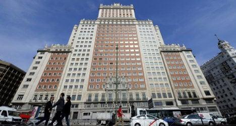 China's richest man bids for Madrid landmark