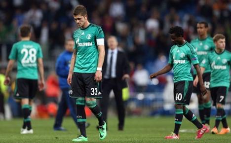 Madrid kick Schalke out of Champions League