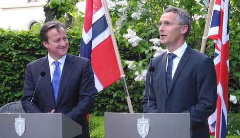 Stoltenberg an 'excellent' choice for Nato: Cameron