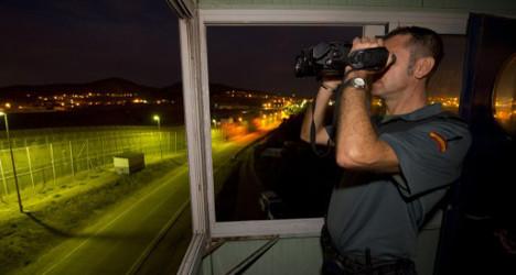 Huge assault on Spanish border 'biggest ever'