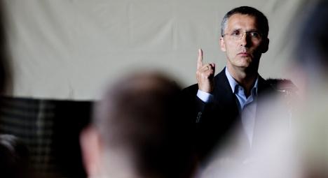 Stoltenberg named as next Nato boss