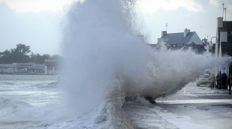 Weather warning: West coast of France on alert