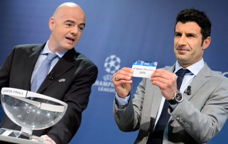 Bayern face Man United in Champions League