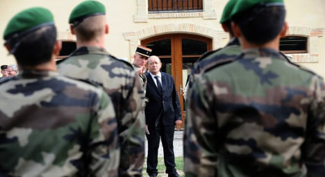 French army hit by nude shower film scandal