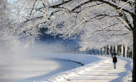 'Where's my Swedish winter wonderland?