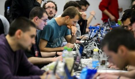 European hackers test their skills in Geneva