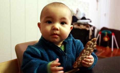 'Rich day care made babies eat crispbread'