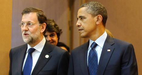 Obama calls Spanish PM to discuss Ukraine crisis