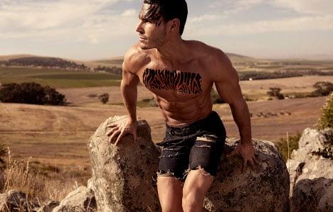 Muscular Swedish man 'too big' to be model