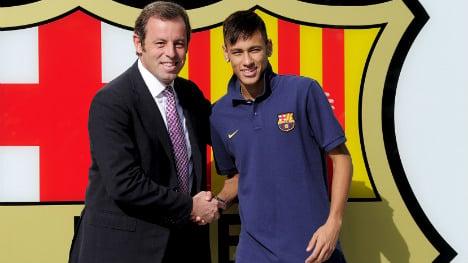 Neymar affected by signing scandal: Barça