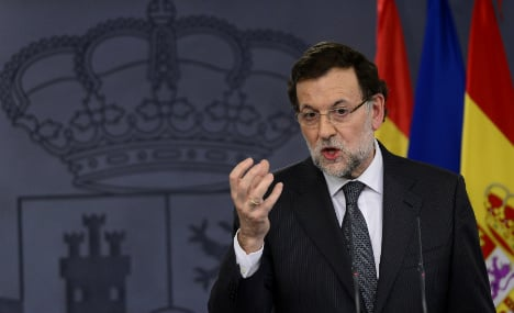 Spain PM plane returns to Dublin due to fault