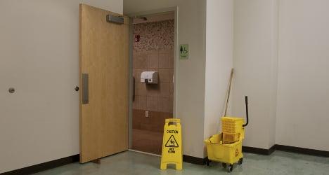 School caretaker 'abused girl in toilet'