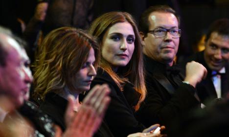 Julie Gayet misses out on French film award