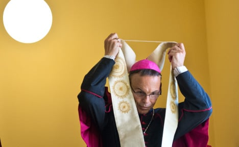 'Bling bishop' Tebartz-van Elst resigns