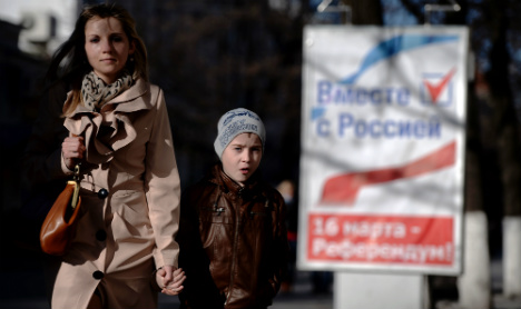 France won't recognize Crimea vote result