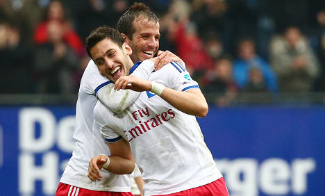 Hamburg and Bayern celebrate weekend wins