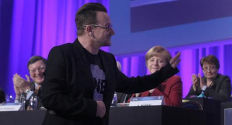 U2 singer Bono tells EU to 'buy Spanish'
