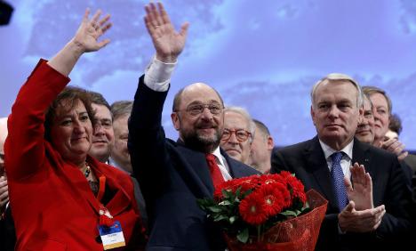 Socialists push Schulz for EU top job