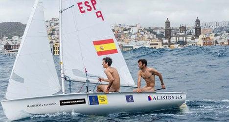Nude sailors strip in bid for Olympics glory