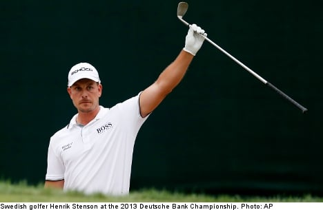 Henrik Stenson in drive to claim the Masters