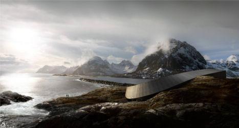 Snøhetta unveils stunning Lofoten hotel
