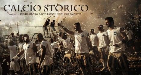 Florence's historic football film wins award