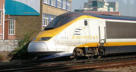 Eurostar services hit after lightning strike