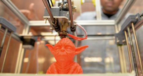 Barcelona gets Europe's first '3D printer café'