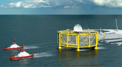Salmon to be farmed in giant offshore platforms