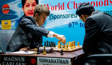 'You'd be amazed at who beats me online': Carlsen