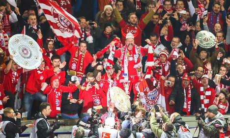 Record-breaking Bayern Munich win league title