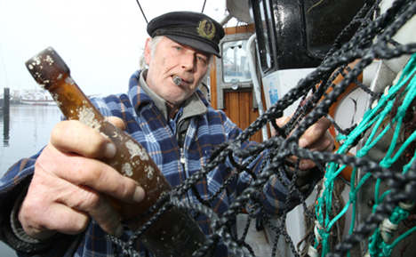 Fishermen find oldest message in a bottle