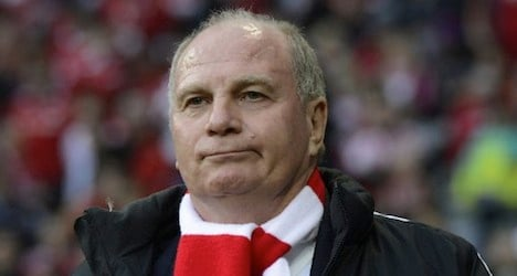 German football boss on trial over Swiss account