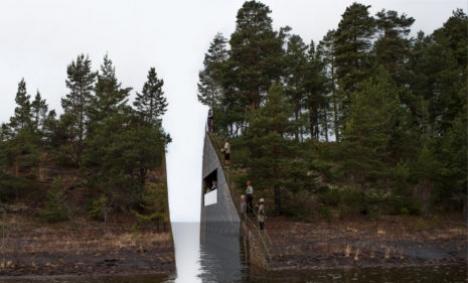 'Rock too soft for Utøya memorial': geologist