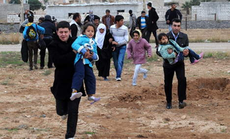 50,000 Syrians apply for 5,000 asylum places