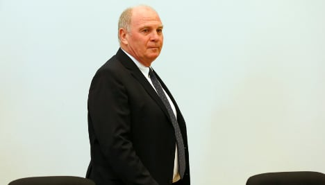 Bayern boss Hoeneß 'owed €27.2 million in tax'