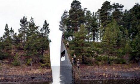 Swede's terror memorial 'rape of the landscape'