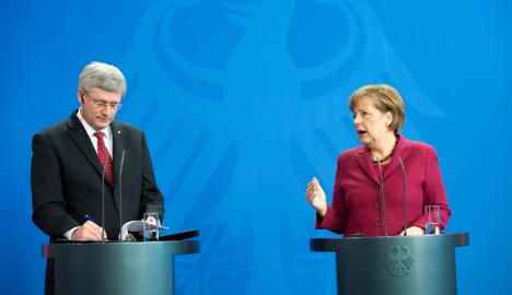Merkel hopes Russia sanctions are enough