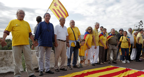 60 percent of Catalans want own state: Poll