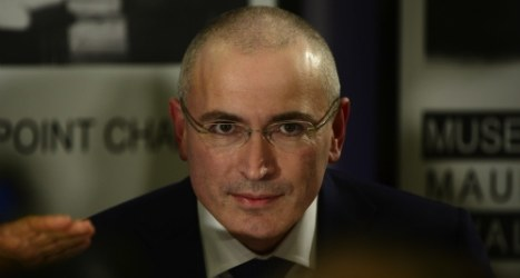 Khodorkovsky bids to help end Ukraine conflict