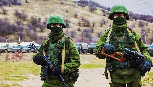 Masked Russians seized our gear: Norway journos