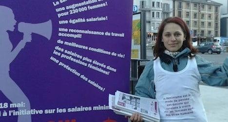 Switzerland's women hit by gender pay gap