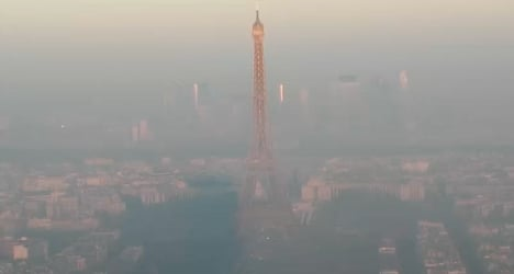 Paris air pollution is 'putting lives in danger'