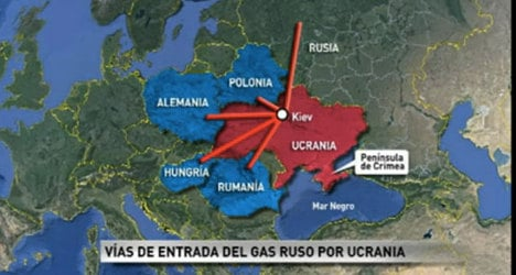 Map fail: News show puts Germany in wrong spot
